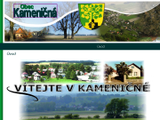 SITO WEB Obec Kamenicna