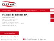 WEBOVÁ STRÁNKA ELPLAST Hradec Králové  a.s.