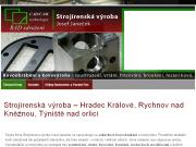 SITO WEB Josef Janecek - strojirenska vyroba