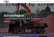 WEBOVÁ STRÁNKA Javůrek CZ s.r.o. Betonárna Ústí nad Orlicí