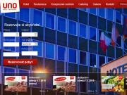 WEBOVÁ STRÁNKA RC AKTIVA s.r.o. Hotel UNO
