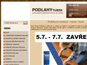 WEBOVÁ STRÁNKA V�clav Turek Podlah��stv�