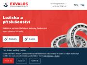 WEBOVÁ STRÁNKA Exvalos spol.s r.o.