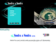 SITO WEB Vondra a Vondra s.r.o.