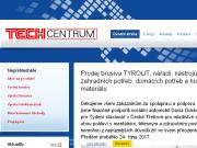 WEBOVÁ STRÁNKA TECHCENTRUM s.r.o.