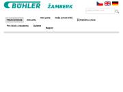 WEBOVÁ STRÁNKA Bühler CZ s.r.o.