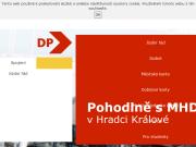 WEBOVÁ STRÁNKA Dopravní podnik města Hradce Králové, a.s.