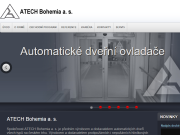 WEBSITE ATECH Bohemia a.s.