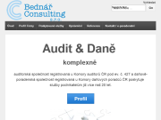 SITO WEB BEDNAR Consulting, s.r.o.