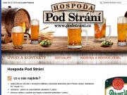 WEBOVÁ STRÁNKA Restaurace Pod Strání