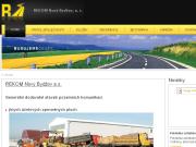WEBOVÁ STRÁNKA REKOM Nový Bydžov, a.s.