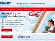 WEBOVÁ STRÁNKA PROMONT střešní okna s.r.o.