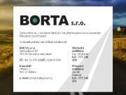 WEBOVÁ STRÁNKA BORTA s. r. o.