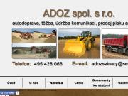 WEBOVÁ STRÁNKA ADOZ, spol. s r.o.
