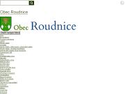 SITO WEB Obecni urad Roudnice