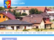 WEBOVÁ STRÁNKA Obec Lodín