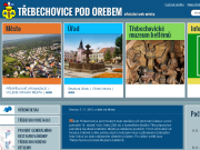 SITO WEB Mestsky urad Trebechovice pod Orebem
