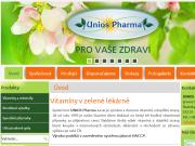 WEBOVÁ STRÁNKA Unios Pharma s.r.o.