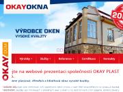 WEBOVÁ STRÁNKA OKAY PLAST, spol.s.r.o.