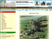 WEBOVÁ STRÁNKA Obec Bukovina u Čisté