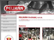 WEBOVÁ STRÁNKA PELIKÁN Vrchlabí s.r.o.