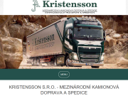 SITO WEB Kristensson s. r. o.
