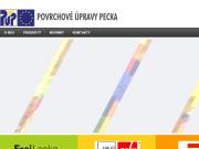 WEBOVÁ STRÁNKA Povrchové úpravy Pecka spol. s r.o.
