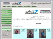 SITO WEB Petr Hanus-PEHAN Vyroba pracovnich odevu