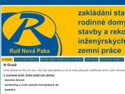 WEBOVÁ STRÁNKA RULF Nová Paka s.r.o.