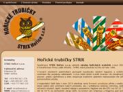 WEBOVÁ STRÁNKA STRIX Ho�ice s.r.o.