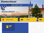 WEBOVÁ STRÁNKA Obec Konecchlumí