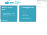 WEBOVÁ STRÁNKA MEBYS Trutnov s.r.o. - Správa nemovitostí Trutnov