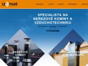 WEBOVÁ STRÁNKA Izomat, s.r.o.