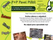 WEBOVÁ STRÁNKA Pl�til Pavel P+P  Druhotn� suroviny