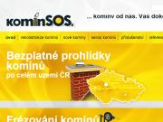 WEBOVÁ STRÁNKA komínSOS. s.r.o.