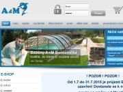 SITO WEB A & M  Borovnicka Bazeny