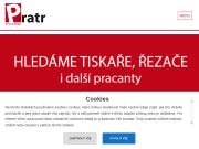 WEBOVÁ STRÁNKA Tiskárna Pratr a.s.
