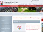 SITO WEB Mesto Benatky nad Jizerou