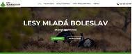 SITO WEB Lesy Mlada Boleslav, a.s.