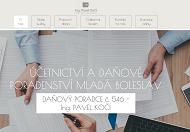 WEBOVÁ STRÁNKA Účetnictví, daňové poradenství Mladá Boleslav
