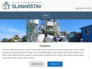PÁGINA WEB Betonarka Kolin Slanarstav