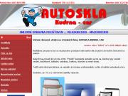 WEBOVÁ STRÁNKA Autoskla Kudrna-Car