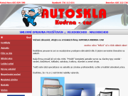 SITO WEB Autoskla Kudrna-Car