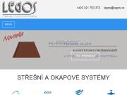 WEBOVÁ STRÁNKA LEGOS s.r.o.