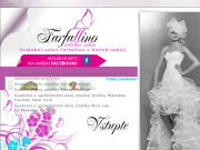 WEBOVÁ STRÁNKA Svatebn� Salon Farfallino Farfallino s.r.o.