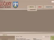 WEBOVÁ STRÁNKA Město Lučany nad Nisou