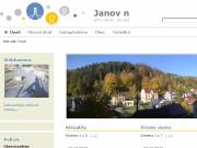 WEBOVÁ STRÁNKA Obecní úřad Janov nad Nisou