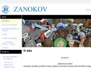 WEBOVÁ STRÁNKA ZANOKOV, spol. s r.o.