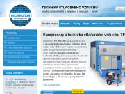 WEBOVÁ STRÁNKA TECHNO-AIR, s.r.o. Kompresory a technika stlačeného vzduchu