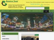 WEBOVÁ STRÁNKA AMERICA TOURS, v.o.s. - Cestovní kancelář